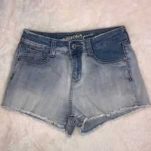 Arizona Jean Co. Ombré Wash Jean Shorts